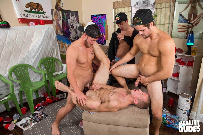gay men naked fucking food